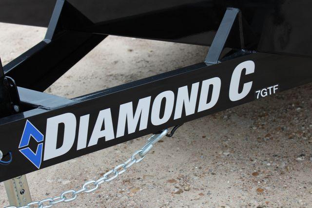 2019 Diamond C GTF 22' GENERAL DUTY  FLATBED WOOD DECK CAR TRAILER CONROE, TX 7