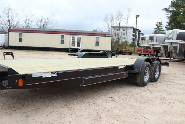 2019 Diamond C GTF 22' GENERAL DUTY  FLATBED WOOD DECK CAR TRAILER CONROE, TX 8