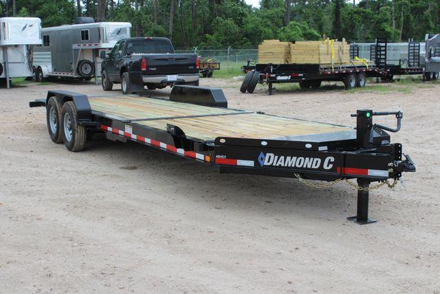 2019 Diamond C HDT - 24 Hydraulic Tilt Equipment Trailer CONROE, TX 28