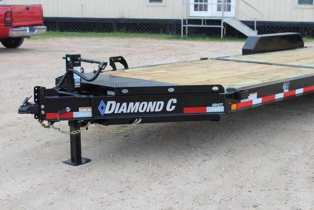 2019 Diamond C HDT - 24 Hydraulic Tilt Equipment Trailer CONROE, TX 4