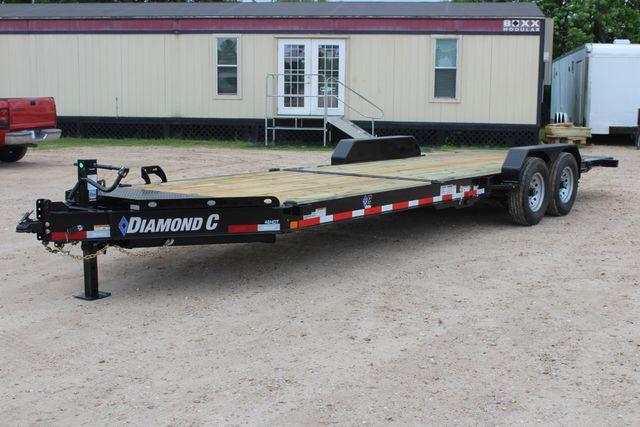 2019 Diamond C HDT - 24 Hydraulic Tilt Equipment Trailer CONROE, TX 6