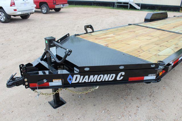 2019 Diamond C HDT - 24 Hydraulic Tilt Equipment Trailer CONROE, TX 7