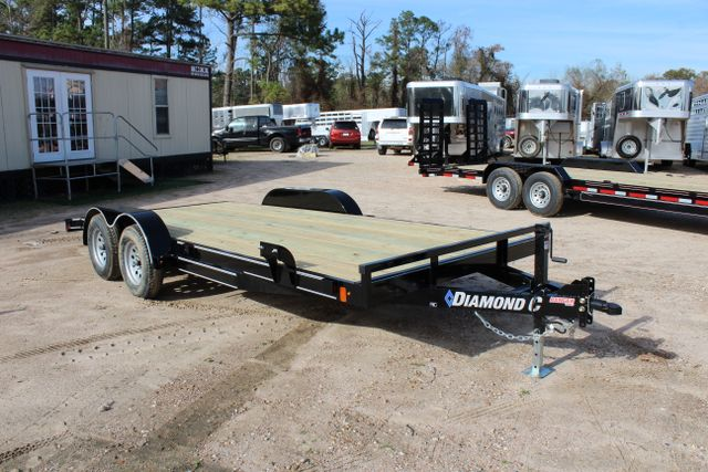 2019 Diamond C RC - 18 CAR HAULER WOOD FLOOR CONROE, TX 19