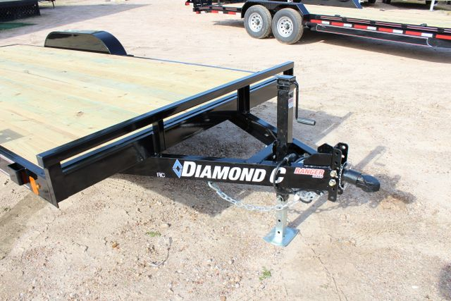 2019 Diamond C RC - 18 CAR HAULER WOOD FLOOR CONROE, TX 3