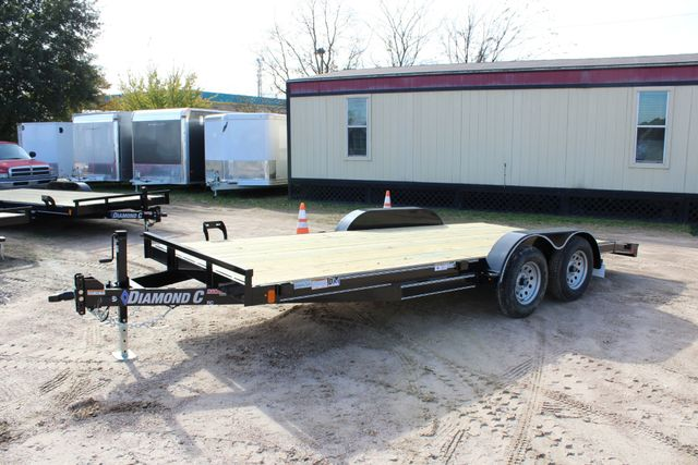 2019 Diamond C RC - 18 CAR HAULER WOOD FLOOR CONROE, TX 9