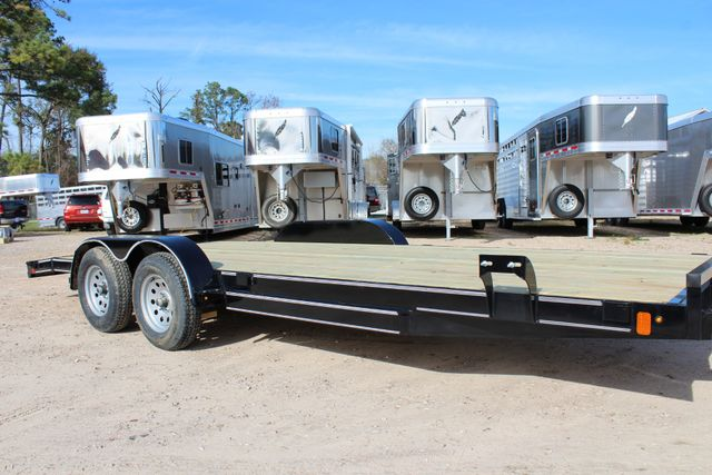 2019 Diamond C RC - 20 Ranger Wood Floor Car Hauler CONROE, TX 1