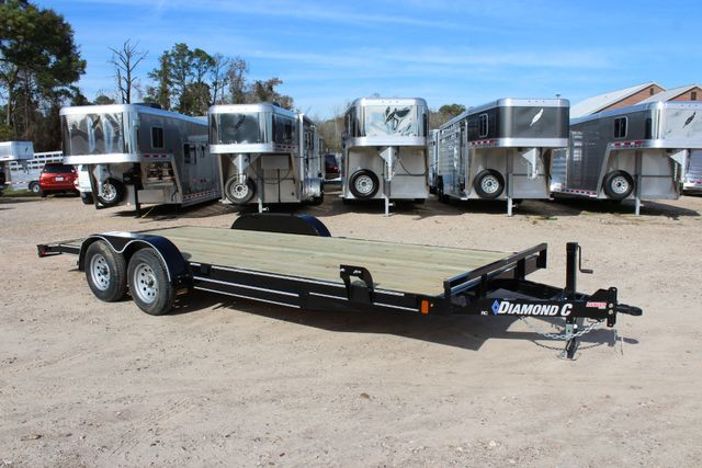 2019 Diamond C RC - 20 Ranger Wood Floor Car Hauler CONROE, TX 18