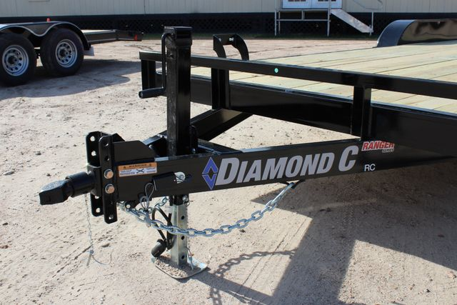2019 Diamond C RC - 20 Ranger Wood Floor Car Hauler CONROE, TX 5