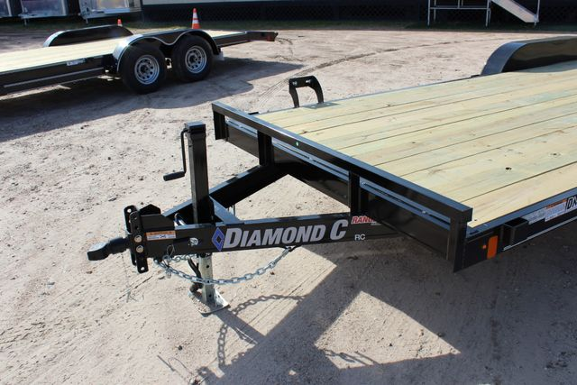 2019 Diamond C RC - 20 Ranger Wood Floor Car Hauler CONROE, TX 6