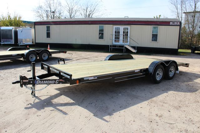 2019 Diamond C RC - 20 Ranger Wood Floor Car Hauler CONROE, TX 8