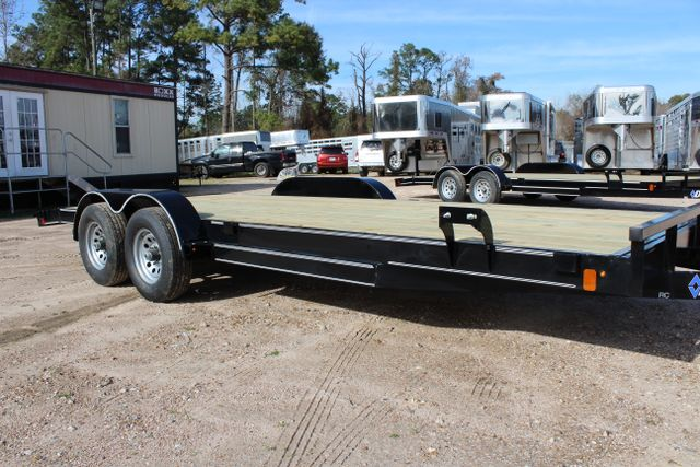 2019 Diamond C RC 20' WOOD DECK CAR TRAILER CONROE, TX 1