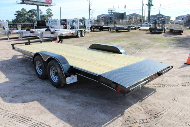 2019 Diamond C RC 20' WOOD DECK CAR TRAILER CONROE, TX 12