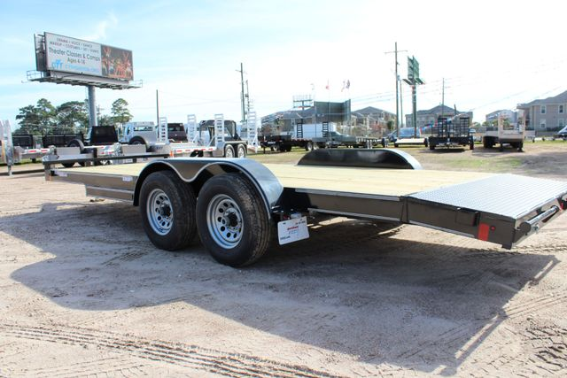 2019 Diamond C RC 20' WOOD DECK CAR TRAILER CONROE, TX 13