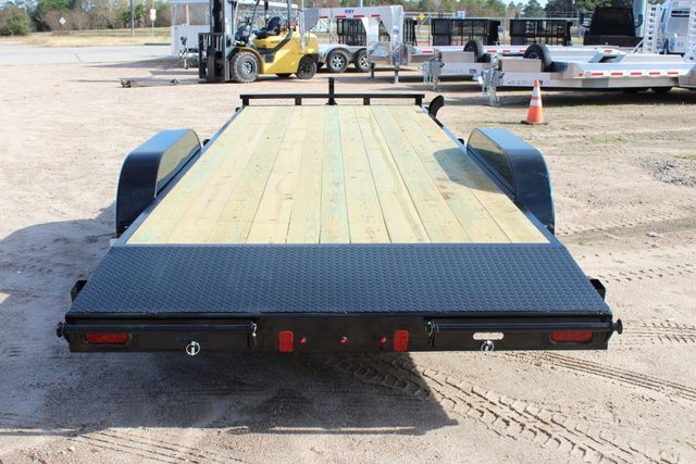2019 Diamond C RC 20' WOOD DECK CAR TRAILER CONROE, TX 15