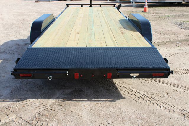 2019 Diamond C RC 20' WOOD DECK CAR TRAILER CONROE, TX 16