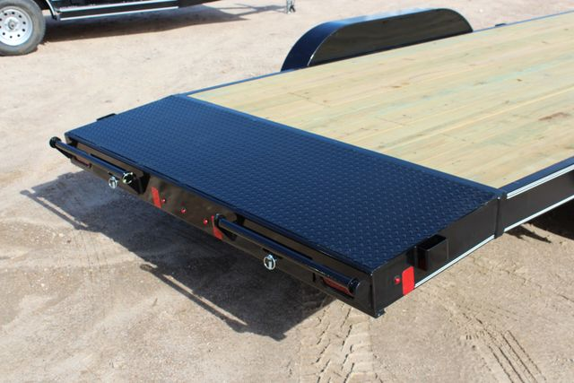 2019 Diamond C RC 20' WOOD DECK CAR TRAILER CONROE, TX 17