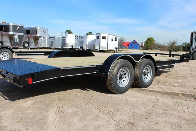2019 Diamond C RC 20' WOOD DECK CAR TRAILER CONROE, TX 18