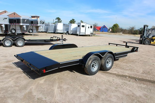 2019 Diamond C RC 20' WOOD DECK CAR TRAILER CONROE, TX 19