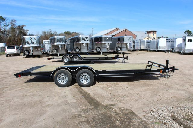 2019 Diamond C RC 20' WOOD DECK CAR TRAILER CONROE, TX 20