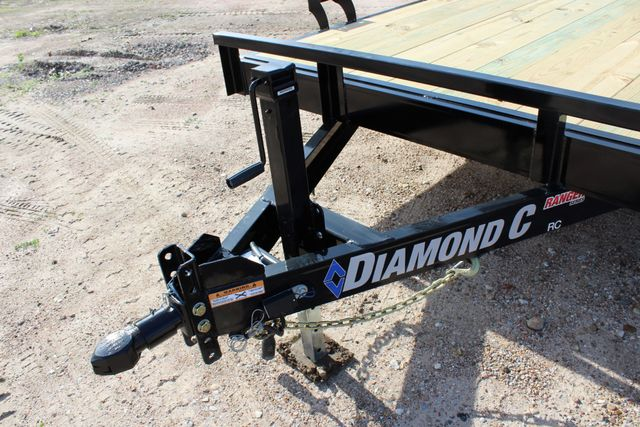 2019 Diamond C RC 20' WOOD DECK CAR TRAILER CONROE, TX 6