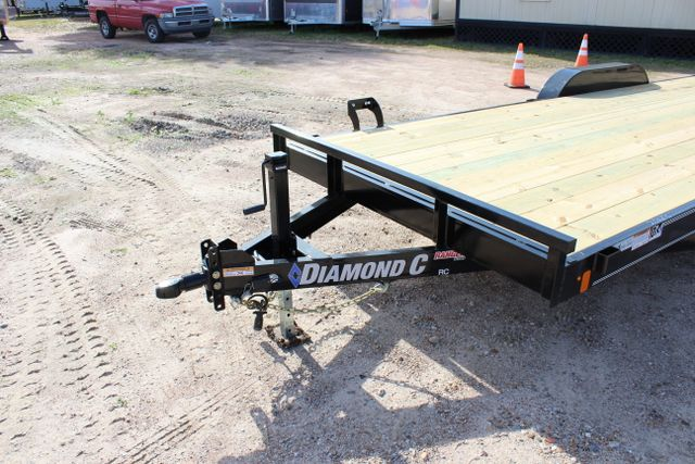 2019 Diamond C RC 20' WOOD DECK CAR TRAILER CONROE, TX 8
