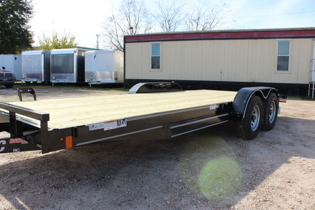 2019 Diamond C RC 20' WOOD DECK CAR TRAILER CONROE, TX 9