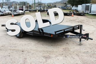 2019 Diamond C RCS 16' - RCS Steel Floor Car Hauler CONROE, TX
