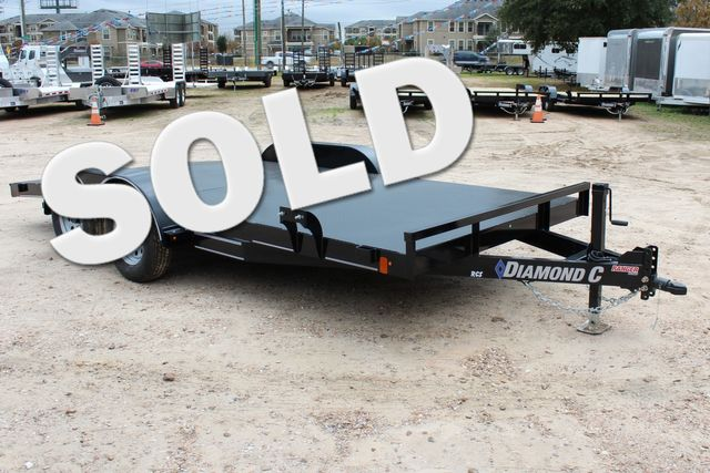 2019 Diamond C RCS 16' - RCS Steel Floor Car Hauler CONROE, TX 0