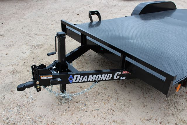 2019 Diamond C RCS 16' - RCS Steel Floor Car Hauler CONROE, TX 6