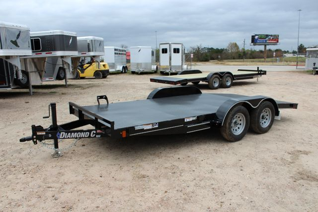 2019 Diamond C RCS 16' - RCS Steel Floor Car Hauler CONROE, TX 8