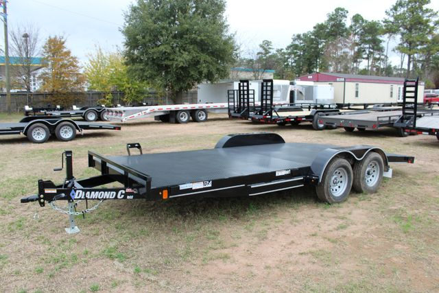 2019 Diamond C RCS 18' - Ranger Steel Floor Car Hauler CONROE, TX 11