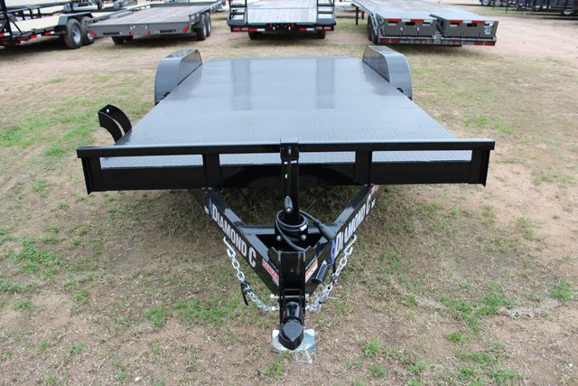 2019 Diamond C RCS 18' - Ranger Steel Floor Car Hauler CONROE, TX 5