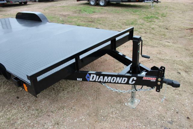 2019 Diamond C RCS 20' - Ranger Steel Floor Car Hauler CONROE, TX 3