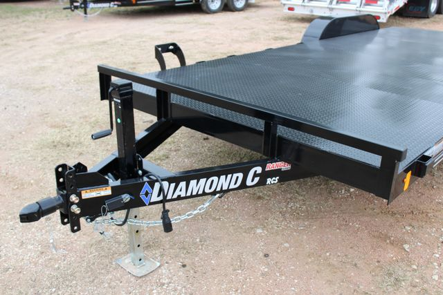 2019 Diamond C RCS 20' - Ranger Steel Floor Car Hauler CONROE, TX 5
