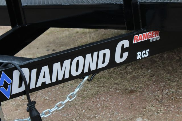 2019 Diamond C RCS 20' - Ranger Steel Floor Car Hauler CONROE, TX 7