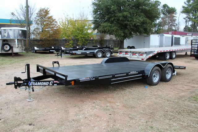 2019 Diamond C RCS 20' - Ranger Steel Floor Car Hauler CONROE, TX 9