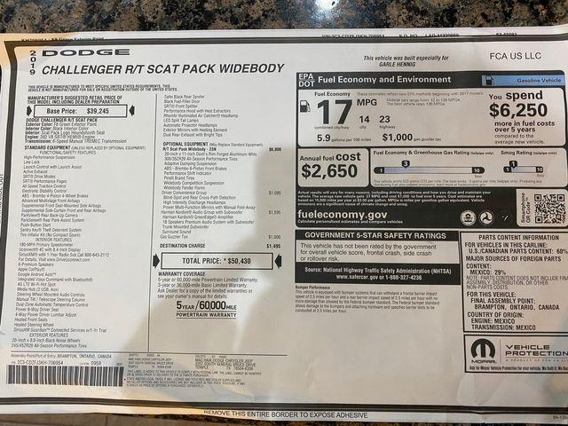 2019 Dodge Challenger R/T Scat Pack Widebody in Austin, Texas 78726