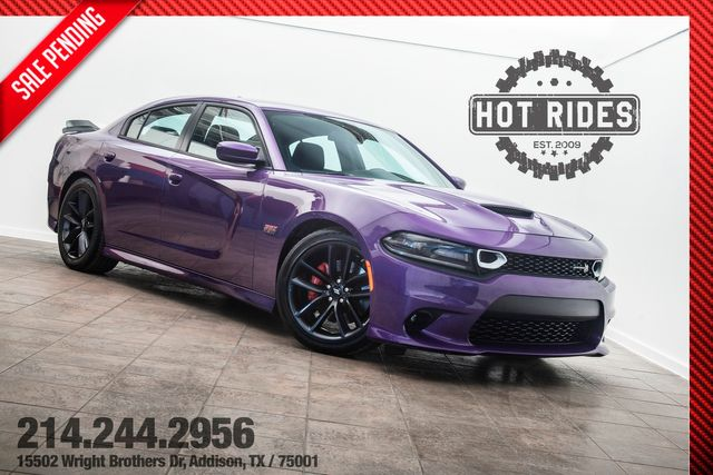 2019 Dodge Charger Scat Pack in Plum Crazy Purple