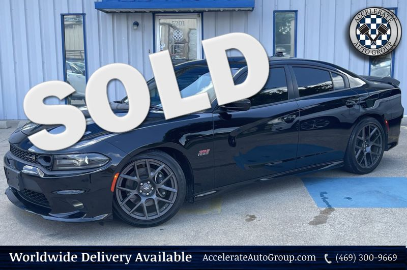 2019 Dodge Charger CHARGER R/T SCAT PACK PLUS/NAVIGATION/BREMBO BRAKE in Rowlett Texas