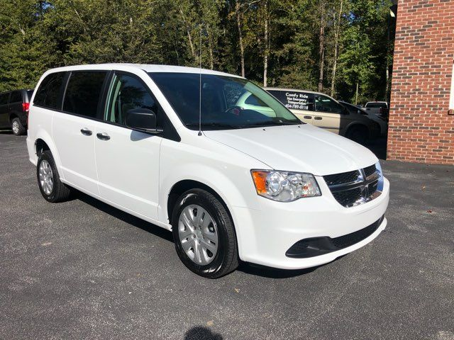2019 Dodge Grand Caravan SE handicap wheelchair accessible rear entry Dallas, Georgia 14