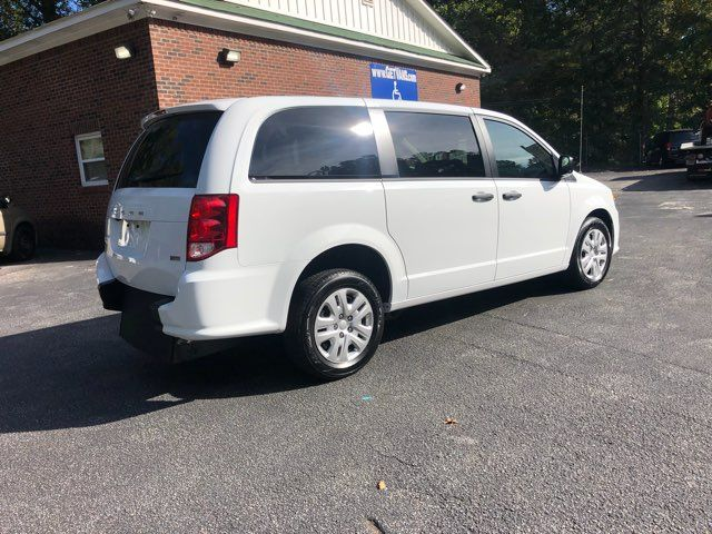 2019 Dodge Grand Caravan SE handicap wheelchair accessible rear entry Dallas, Georgia 16