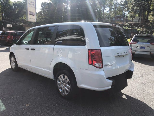 2019 Dodge Grand Caravan SE handicap wheelchair accessible rear entry Dallas, Georgia 4