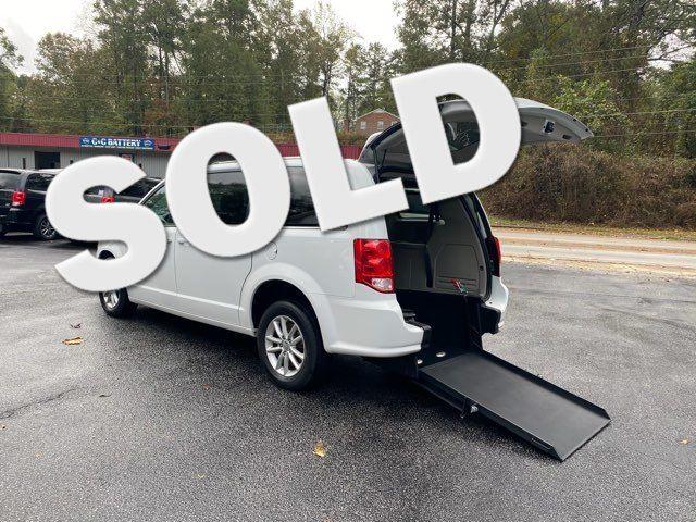 2019 Dodge Grand Caravan SXT handicap wheelchair rear entry van in Dallas, Georgia 30132