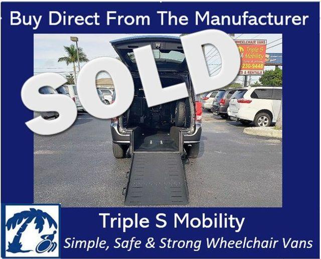 2019 Dodge Grand Caravan Gt Wheelchair Van Handicap Ramp Van DEPOSIT