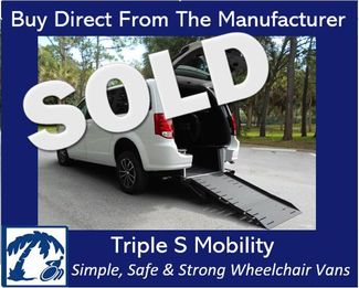 2019 Dodge Grand Caravan Gt Wheelchair Van Handicap Ramp Van Pinellas Park, Florida