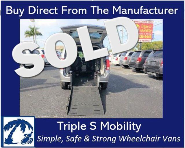 2019 Dodge Grand Caravan Sxt Wheelchair Van Handicap Ramp Van