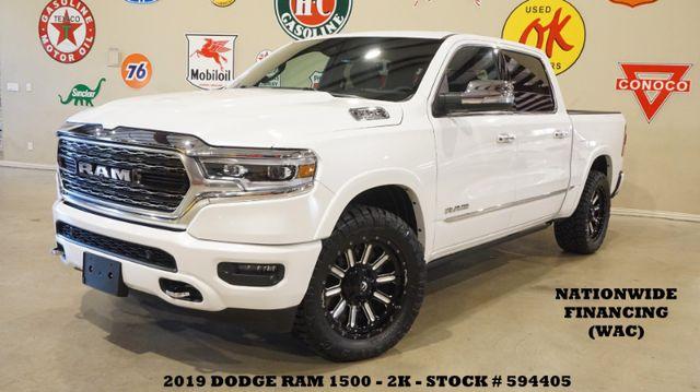 2019 Dodge Ram 1500 Limited 4X4 MSRP 64K,ROOF,360 CAM,FUEL WHLS,2K