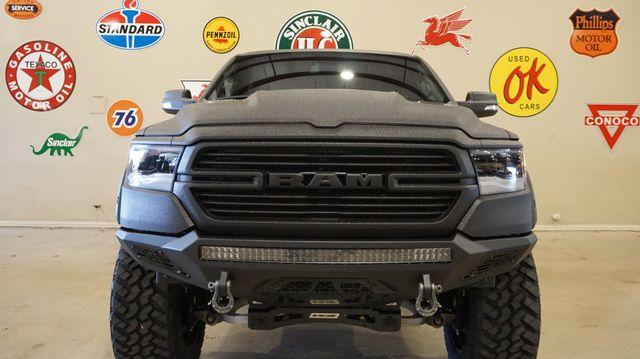 2019 Dodge Ram 1500 Laramie Black 4X4 DUPONT KEVLAR,LIFTED,FUEL WHLS