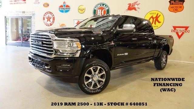 2019 Dodge Ram 2500 Laramie Longhorn 4X4 DIESEL,LIFTED,NAV,360 CAM,13K