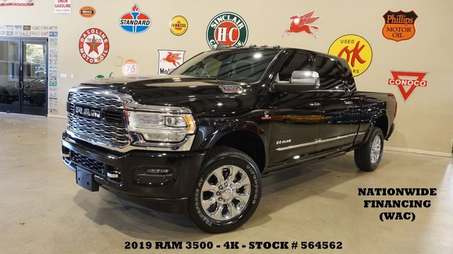 2019 Dodge Ram 3500 Limited MEGA CAB 4X4 MSRP 83K,ROOF,360 CAM,4K